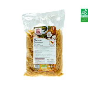 Macaroni Demi-Complets Bio 500gr Celnat