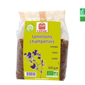 Lentillons Champenois 500gr Celnat