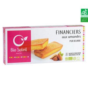Financier Pur Beurre Bio Aux Amandes 125g Bio Soleil