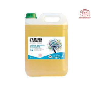 Liquide Vaisselle Main 5Lt l'Artisan Savonnier