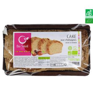 Cake Châtaignes Bio à la Crème de Marron 260g Bio Soleil