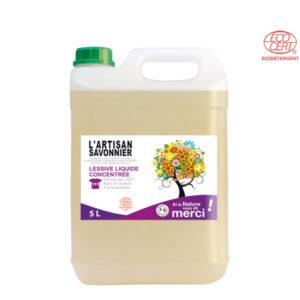 Lessive Liquide Concentrée 5Lt l'Artisan Savonnier