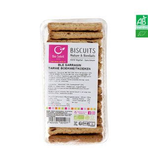 Biscuits Blé & Sarrasin Bio 250g Biscuits Végétaliens Bio Soleil