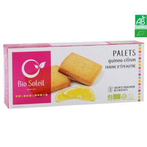 Palets Quinoa Citron Bio 165g Bio Soleil