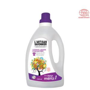 Lessive Liquide Concentrée 1.5Lt l'Artisan Savonnier