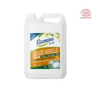Liquide Vaisselle Fleur d'Oranger 5Lt Etamine du Lys