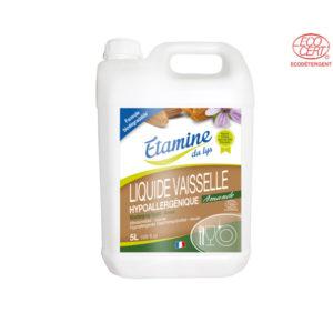 Liquide Vaisselle Hypoallergénique Amande 5Lt Etamine du Lys