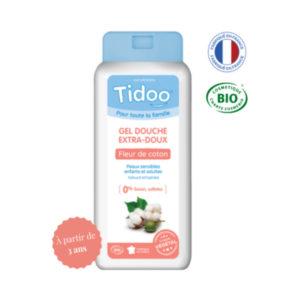 Gel douche extra-doux Fleur de Coton Bio 750mL Tidoo
