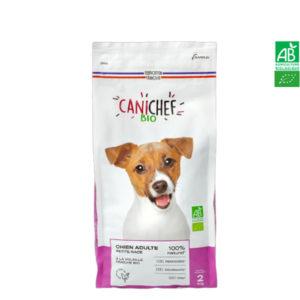 Croquettes pour chien BIO – Petite Race 2kg Canichef
