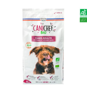Croquettes pour chien BIO – Chien Moyenne et Grande Race 5kg Canichef