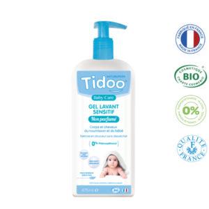Gel Lavant Sensitif non parfumé (475 ml) Tidoo