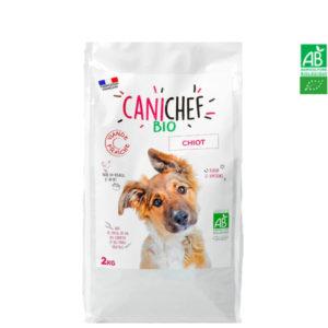 Croquettes pour chien BIO 2kg - Chiot Canichef et Felichef