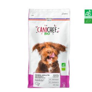Croquettes pour chien BIO – Chien Moyenne et Grande Race 2kg Canichef