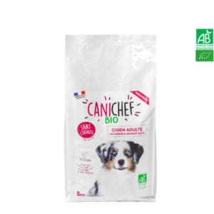 Croquettes pour chien BIO Sans Céréales- Chien Moyenne et Grande Race 5kg Canichef