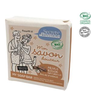 Savon Argile Rouge Bio 100gr Secret de Provence