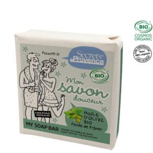 Savon Huile d'Olive Bio 100gr Secret de Provence