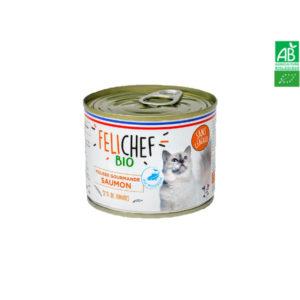 Mousse Gourmande Au Saumon Chat Bio – FELICHEF