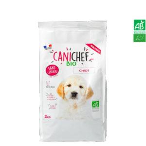 Croquettes pour chien BIO Sans Céréales 2kg – Chiot Canichef