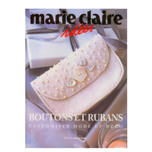 Boutons et Rubans Customiser Mode et Déco Edition Marie Claire