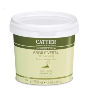 Argile Verte Prête à l'Emploi Pot de 1.350kg Cattier Paris