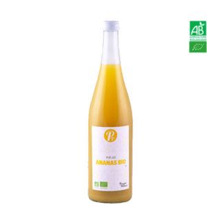 Pur Jus d'Ananas Bio 74cl Pressoirs de Provence