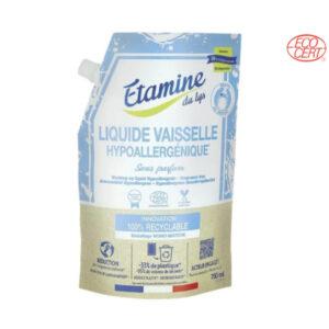 Doypack Liquide Vaisselle Hypoallergénique 750ml Etamine du Lys