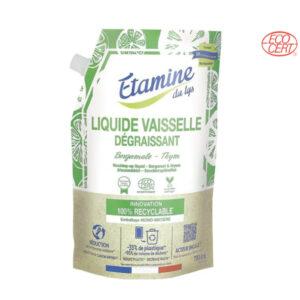 Doypack Liquide Vaisselle Thym Bergamote 750ml Etamine du Lys