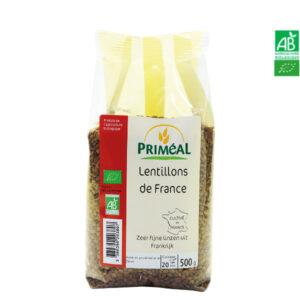 Lentillons de France Bio 500gr Priméal