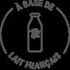 Logo A base de Lait Français